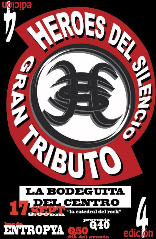 Tributo a Héroes del Silencio 2011 Guatemala