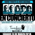 Alternativa, Banda tributo al Rock Nacional en Concierto