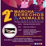 Segunda marcha por los derechos de los animales en Guatemala