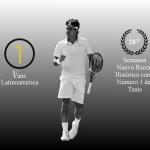 287 semanas, nuevo record histórico de Roger Federer como No. 1 del Mundo