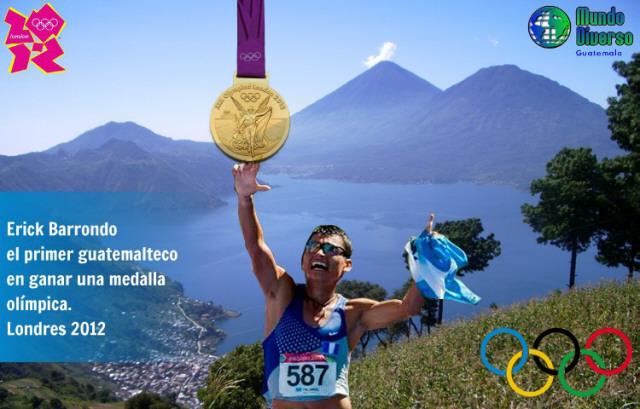 Erick Barrondo - Medalla de Plata Olimpica Marcha 20 km.