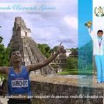 Imágenes conmemorativas de Erick Barrondo, primera medalla olímpica de Guatemala
