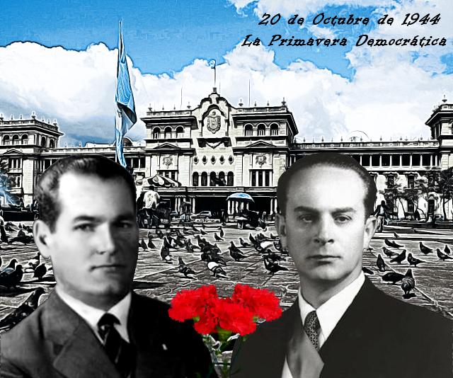 La Primavera Democrática, Arévalo y Árbenz.