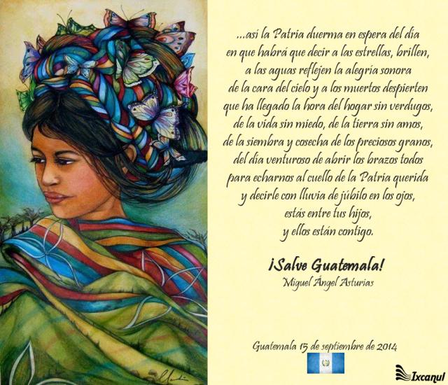 Poema de Miguel Angel Asturias