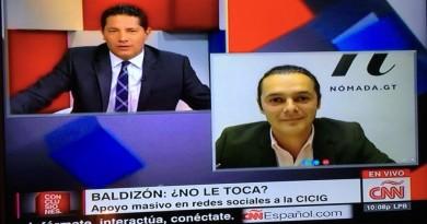 Entrevista de Fernando del Rincón a Martín Rodríguez de Nómada.gt en CNN