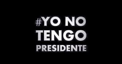 Yo no tengo presidente