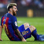 Todas las lesiones en la carrera de Lionel Messi