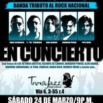 Alternativa, Banda tributo al Rock Nacional en Concierto