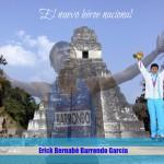 Erick Barrondo, de los cerros de Chiyuc a lo más alto del Monte Olimpo